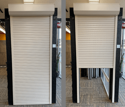 Retail Mall Kiosks Security Shutters